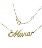 Collares Oro Personalizados